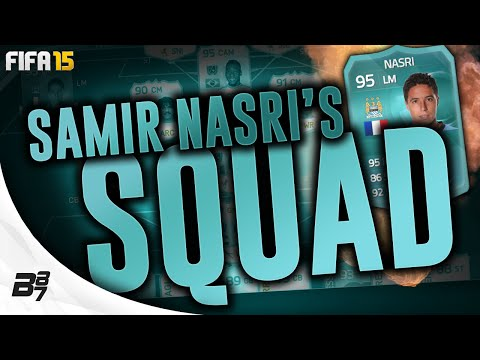 95 PLAYER CARD NASRI SQUAD TOUR w/ PELE! | FIFA 15 Ultimate Team