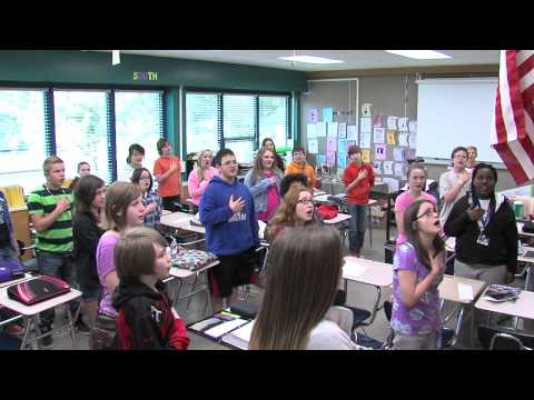 Pledge of Allegiance - Brody Middle School