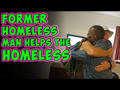 Former Homeless Man Helps The Homeless