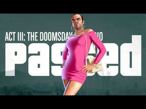 Completed Gta 5 Act 3 Heist Completed Fastforward To End