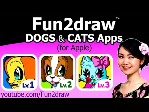 Fun2draw Dogs & Cats APPS + FREE Gift Drawing