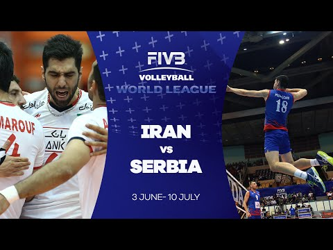 FIVB - World League: Iran v Serbia highlights