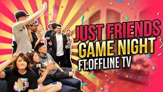 GAME NIGHT WITH OFFLINETV | IRL ROCKET LEAGUE | DATING ADVICE