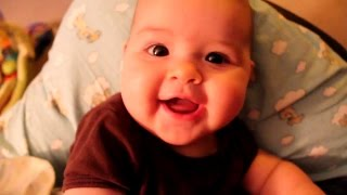 Baby Laughing Hysterically at Ripping Paper|| Baby Laughing from Ripping Paper Compilation