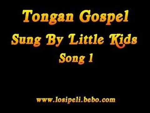 Tongan Gospel Song - Sung by little Tongan kids