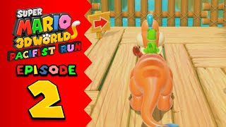 Pacifist Problems ll Koops Plays: Super Mario 3D World: Pacifist Run Episode 2
