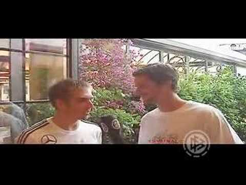 Arne Friedrich interview Philipp Lahm