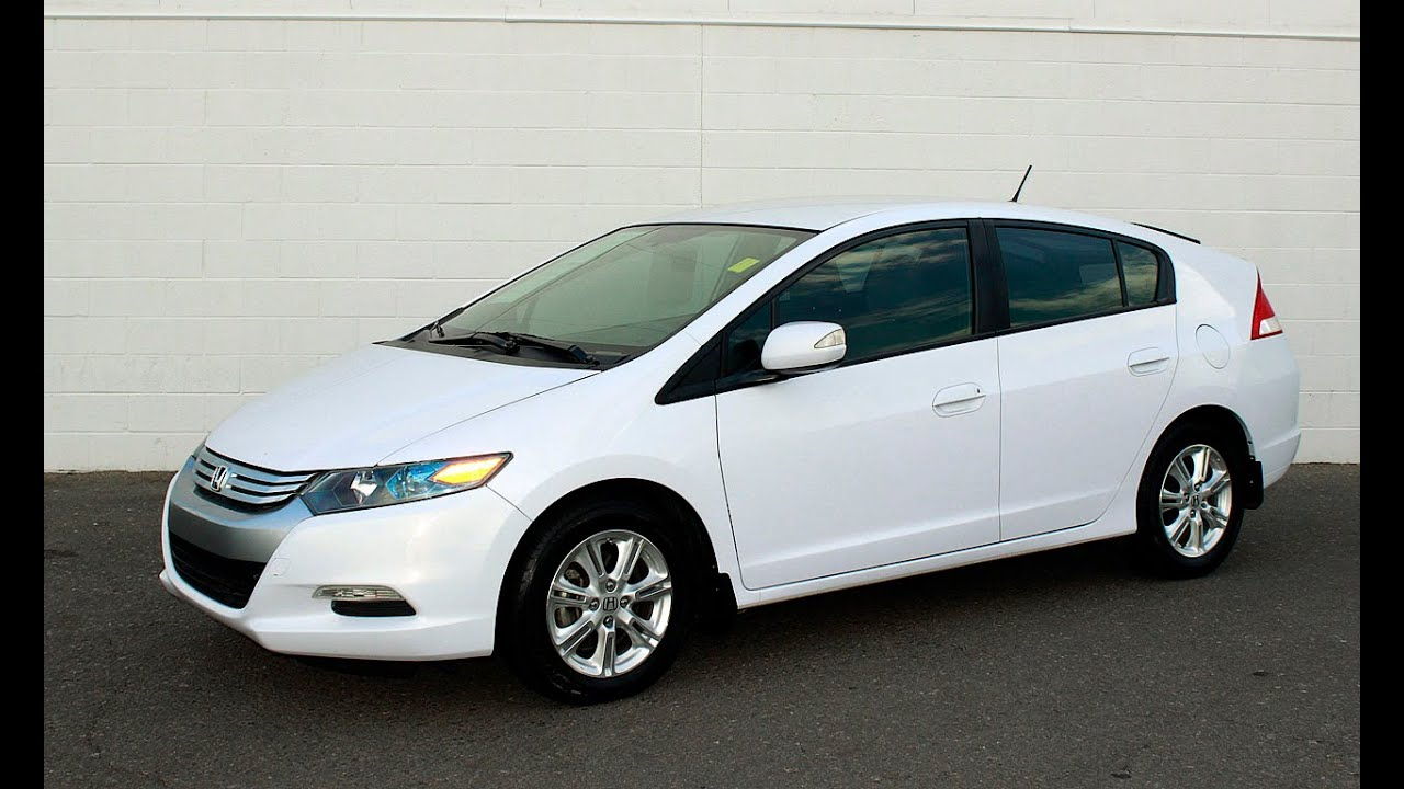 2010 Honda Insight White | 200+ Interior and Exterior Images