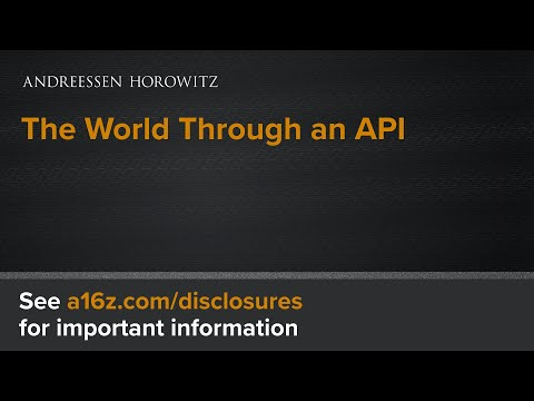 The World Through an API