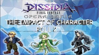 Dissidia Final Fantasy: Opera Omnia THE IMPACT OF CHARACTER POLL 2 ON GLOBAL DFFOO