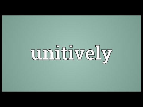 Header of unitively