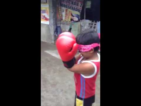 Funny Kids Boxing