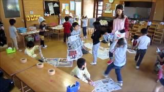 2014/5/1 ・ 2 年長とり かぶと制作