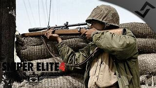 Meeting the Partisans - Sniper Elite 4 - Mission 2 COOP Gameplay