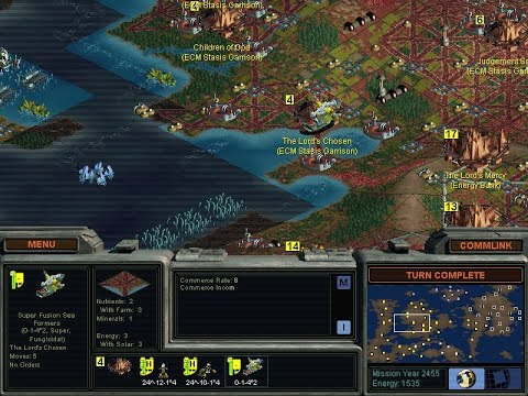 Overview - Sci-Fi Turn Based Strategy Games 1995-1999
