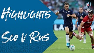 Highlights: Scotland v Russia - Rugby World Cup 2019