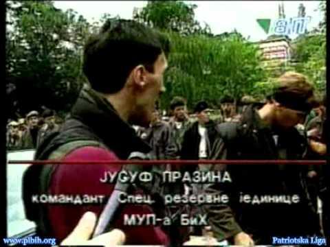 Snaga Bosne: Juka Prazina - Smotra branilaca (Sarajevo
