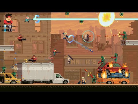 50 Minutes of Super Time Force Gameplay with the Creator! Time Travel, Paradoxes and More