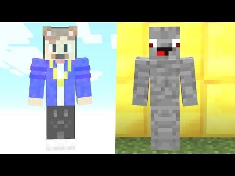 EpicStun als Geist im Gamemode 1 gegen Alphastein.. Minecraft Lucky Block Falle / Troll