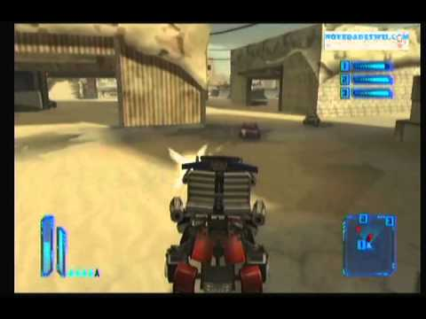 [Wii] Transformers 3 - el lado oscuro de la luna - presentación y juego gameplay