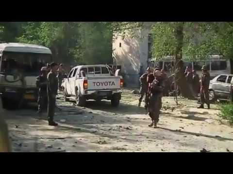 Afghanistan Supreme Court Car Bomb by Pakistan Punjabi ISI in Name of Taliban Kills 17
