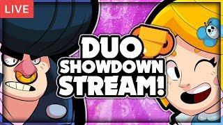 DUO SHOWDOWN LIVE STREAM! + ROAD To 10K Trophy Pushing! - Brawl Stars!