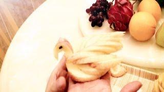 Art In Apple Swan