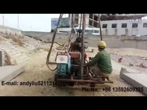 hydraulic drilling rig video 05 for upload