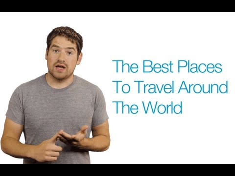 Best Places To Travel Around The World Youtube