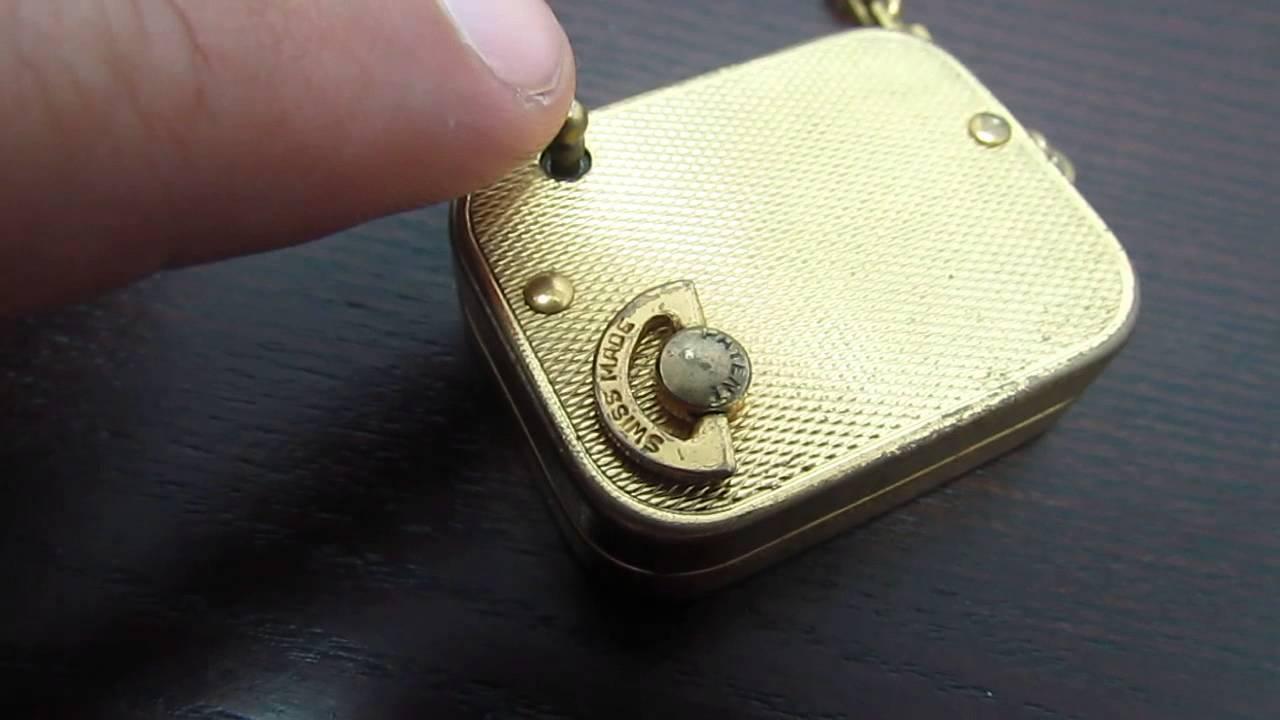 Music Box Key Music Box Pendant Key