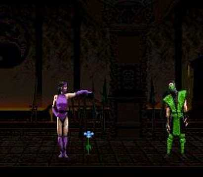 Mortal Kombat II Mileena Friendship Video