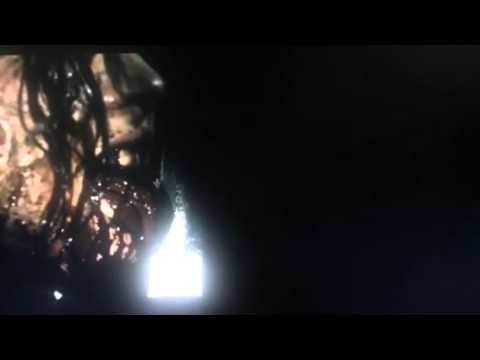 Evil Dead (2013) - Tongue Split/Lesbian Kiss scene