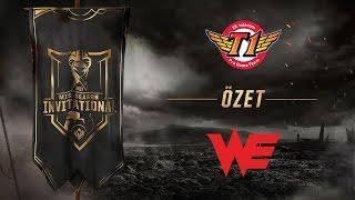 SK telecom T1 ( SKT ) vs Team WE ( WE ) Maç Özeti | MSI 2017 Grup Aşaması 5. Gün