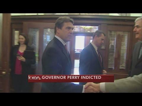 Texas Governor Rick Perry indicted by grand jury