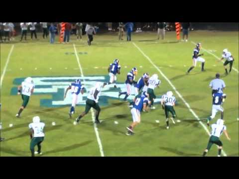 2013 South Robeson vs North Moore High School Football with Music