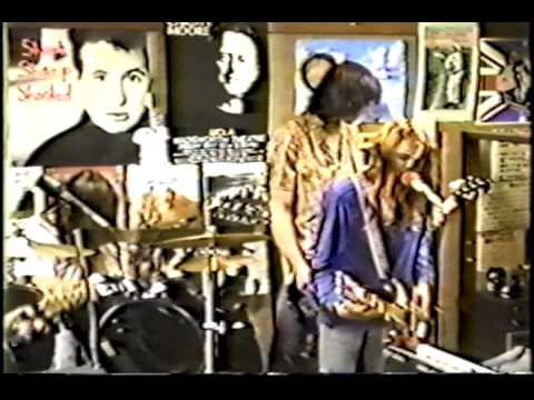 Nirvana - Rhino Records Los Angeles 1989 - Polly
