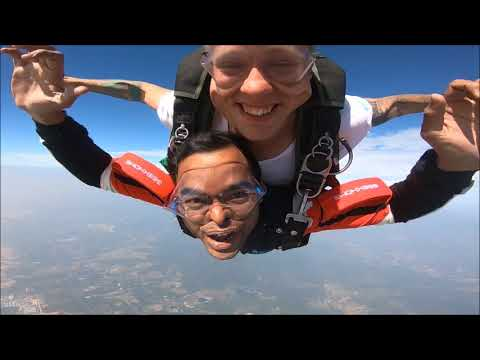 Tandem Sky Dive,Tuofeng skydiving,Yangjiang,Guangzhou,China