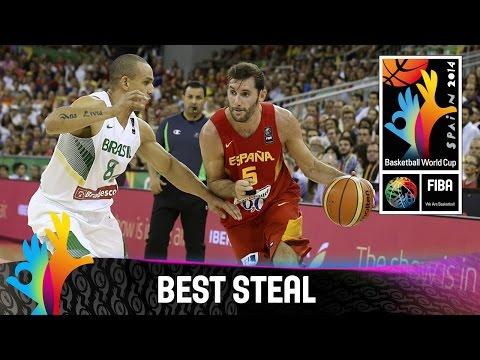Brazil v Spain - Best Steal - 2014 FIBA Basketball World Cup