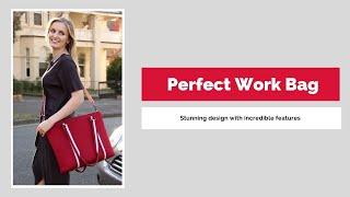 Designer Womens 17 Inch Lightweight Laptop Bag