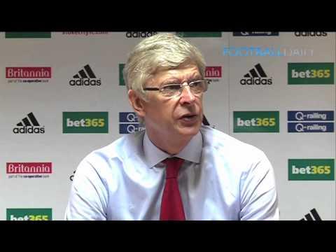 Arsene Wenger on Arsenal's lack of goals