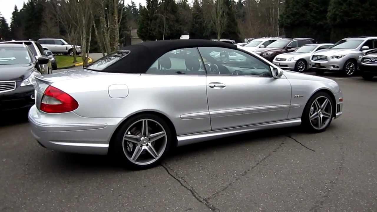 Cars Direct Llc >> 2007 Mercedes-Benz CLK63 Cabriolet, convertible, silver ...