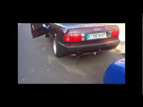 Audi 80 B4 2,3E Komplettanlage ab KAT