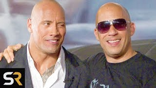 Vin Diesel Is The Reason The Rock Isn't In Fast And Furious 9