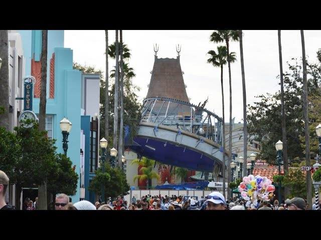 Sorcerer's Hat Removal Progress at Disney's Hollywood Studios From All Angles - Feb 3rd, 2015