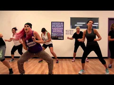 Live It Up - Jennifer Lopez Ft. Pitbull Zumba With Mallory Hotmess video