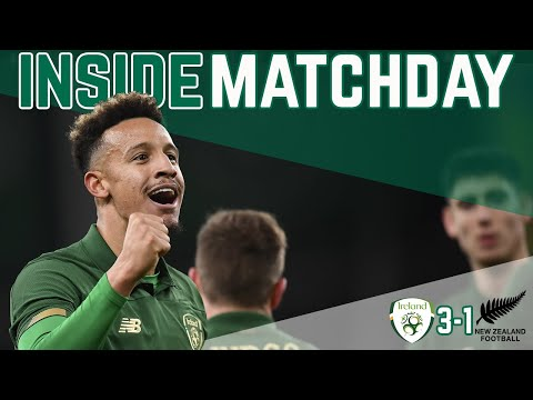 INSIDE MATCHDAY |  IRELAND VS NEW ZEALAND