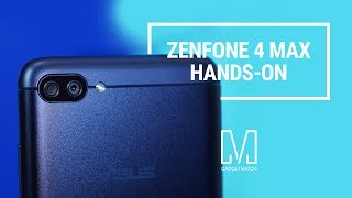 ASUS Zenfone 4 Max Unboxing and Hands on