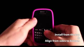 Capdase Alumor Jacket-Elli for BlackBerry Curve 9220 9320 Introduction video
