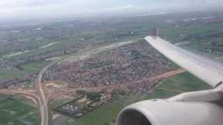 Singapore Airlines SQ175: Takeoff from Hanoi Noi Bai Airport RWY11L wih A330 9V-STZ