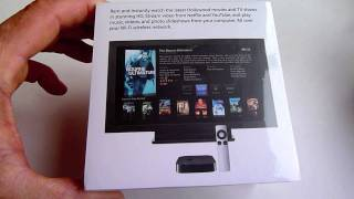 (HD) NEW APPLE TV UNBOXING 2011